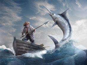 《老人与海》读书笔记摘抄及感悟1100字